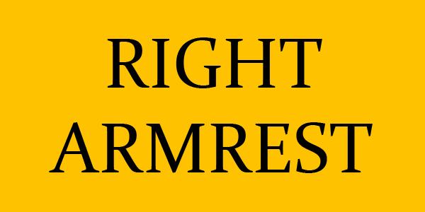 RIGHT ARMREST